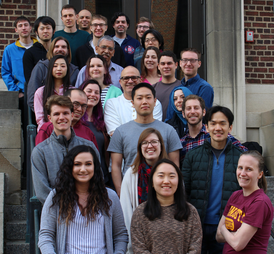 Hillmyer Group Photo Spring 2019